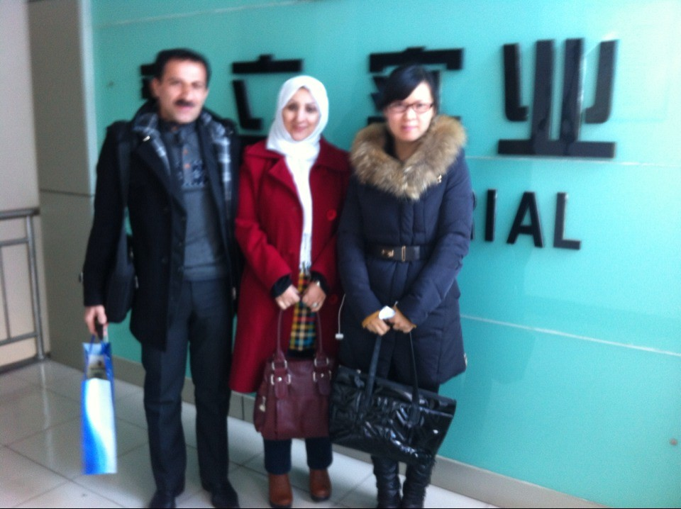 Customer from Iran visited our company on 19th Feb, 2014